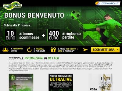 Scommesse Sportive Lottomatica Better