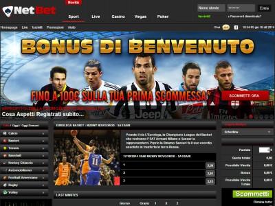 Scommesse Sportive NetBet Sport